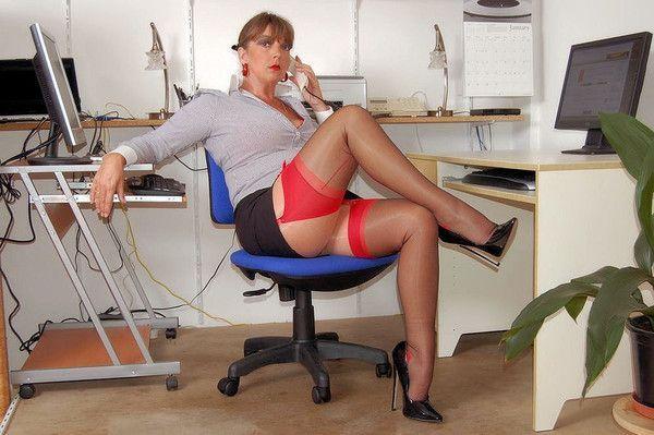 Bureau de sexe en nylon